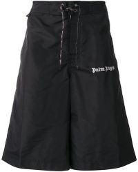 Palm Angels - Track Shorts - Lyst