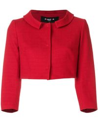 Paule Ka | Cropped Fitted Jacket | Lyst
