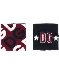 Dolce & Gabbana Комплект Из Двух Напульсников С Логотипом - Многоцветный