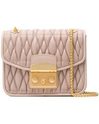 Furla - Metropolis Cometa Quilted Cross Body Bag - Lyst