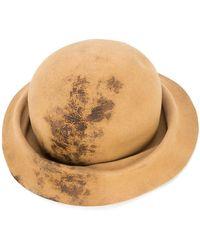 Horisaki Design & Handel - Burned Effect Bucket Hat - Lyst