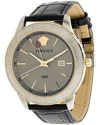 Versace - Business Slim Watch - Lyst