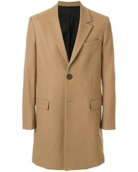 AMI - Two Buttons Coat - Lyst