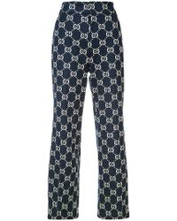 Gucci - Gg Jersey Pant - Lyst
