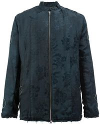 By Walid - Floral Jacquard Jacket - Lyst