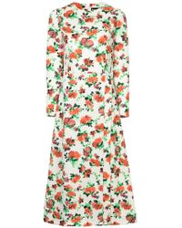 Dalood - Floral Print Dress - Lyst