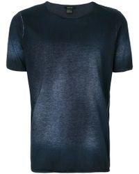 Avant Toi - Bleached Effect T-shirt - Lyst