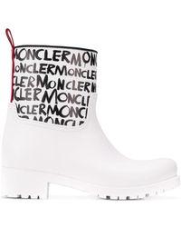 Moncler - Stivali da pioggia Ginette - Lyst