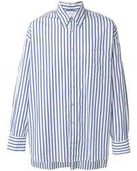 Our Legacy - Striped Long-sleeve Shirt - Lyst
