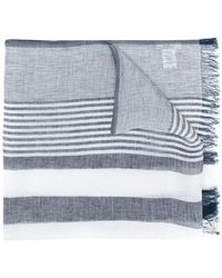 Dondup - Striped Scarf - Lyst