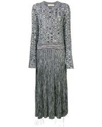 Marni - Long Flared Jumper Dress - Lyst