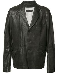 Haider Ackermann - Panelled Jacket - Lyst