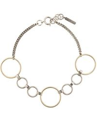 Justine Clenquet - Lucy Two-tone Choker - Lyst