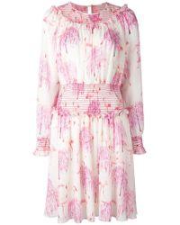 Giamba - Printed Dress - Lyst
