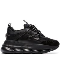 Versace - 'Chain Reaction' Sneakers - Lyst