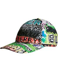 Burberry - Archive Logo Baseball Cap - Lyst