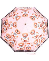 Moschino - Teddybear Print Umbrella - Lyst