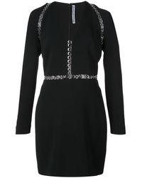 Alexander Wang アイレット ドレス - ブラック