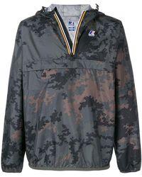 K-Way - Zip Hooded Jacket - Lyst