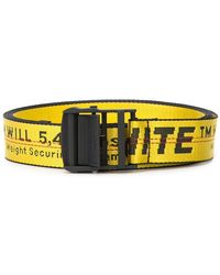 Off-White c/o Virgil Abloh - Oversized Logo Belt - Lyst