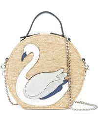 Christian Siriano - Handtasche mit Schwanenapplikation - Lyst