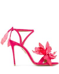 Aquazzura - 'flora' Sandals - Lyst