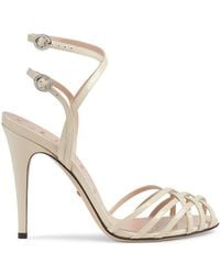 Gucci - Patent Leather Sandals - Lyst