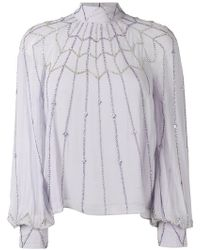 Temperley London - Glide Blouse - Lyst