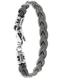 Emanuele Bicocchi - Woven Bracelet - Lyst