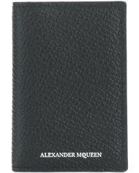 Alexander McQueen - Grained Card Holder - Lyst