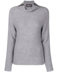 Jo No Fui - Roll Neck Stripe Jumper - Lyst