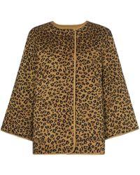 Mara Hoffman - Haven Leopard Print Cotton Jacket - Lyst