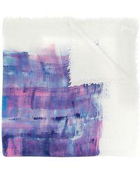 Massimo Alba - Printed Scarf - Lyst
