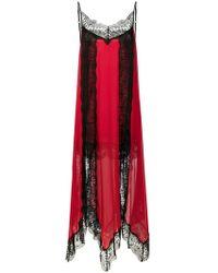Christopher Kane - Kleid mit Spitzenborten - Lyst