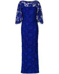 Lauren by Ralph Lauren - Long Lace Gown - Lyst