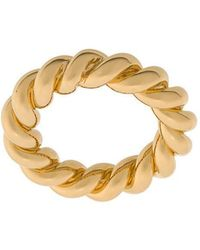 ISABEL LENNSE - Wide Twisted Ring - Lyst