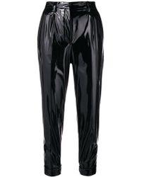 N°21 - Vinyl Slim Trousers - Lyst