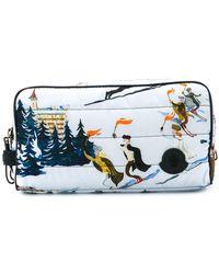 Moncler - Ski Print Wash Bag - Lyst