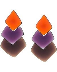 Monies - Layered Drop Earrings - Lyst