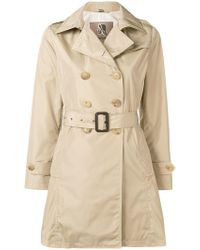 Sealup - Mid-length Trench Coat - Lyst
