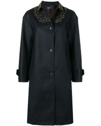 Kolor - Oversized Embellished Coat - Lyst