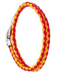 Tod's - Braided Wrap Bracelet - Lyst