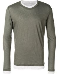 Majestic Filatures - Layered Long Sleeve T-shirt - Lyst