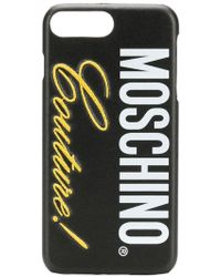 Moschino - Logo Iphone 8 Plus Case - Lyst