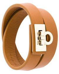 Ferragamo - Gancio Lock Wrap Bracelet - Lyst