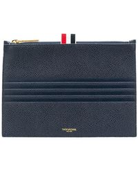 Thom Browne - 4-bar Emboss Large Coin Purse - Lyst