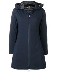 Save The Duck - Padded A-line Coat - Lyst
