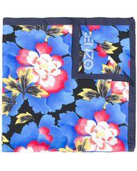 KENZO - Floral Printed Scarf - Lyst