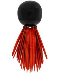 Monies - Dome Fringe Earrings - Lyst