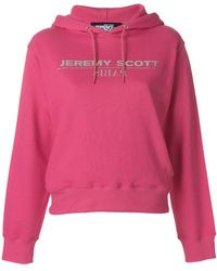 Jeremy Scott - Logo Hooded Sweatshirt - Lyst